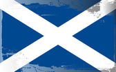 Grunge flag series-Scotland — Stock Photo