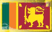 Grunge flag series-Sri Lanka — Stock Photo