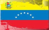 Grunge drapeau série-venezuela — Photo