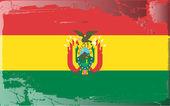 Grunge flag series-Bolivia — Stock Photo