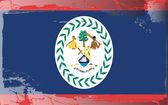 Grunge bandera serie-belice — Foto de Stock