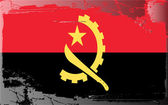 Grunge flag series-Angola — Stockfoto
