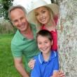 Portrait of happy family — Stock Photo #5694894