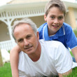 Father and son — Stock Photo #5695117