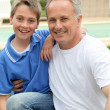 Father and son — Stock Photo #5695141