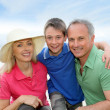 Portrait of happy family — Stock Photo #5695245