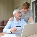 Senior couple — Stock Photo #5695495