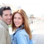 Portrait of happy smiling couple — Stock Photo