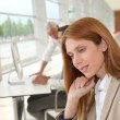 Portrait of businesswoman in the office — Stock Photo