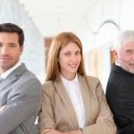 Portrait of business team — Stock Photo