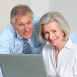 Business partners working on the office — Stock Photo