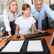 Business team meeting in the office — Stock Photo