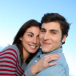 Stock Photo: Closeup of young couple