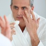 Male skincare — Stock Photo