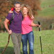 Couple on a hiking day — Stock Photo #5698824