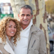 Portrait of happy couple — Foto de Stock
