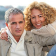 Portrait of couple — Stock Photo