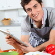 Man in kitchen — Stock Photo #5699094