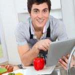 Man in kitchen — Stock Photo #5699107
