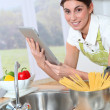Royalty-Free Stock Photo: Woman in kitchen
