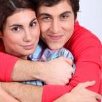 Portrait of couple — Stock Photo #5699262