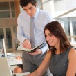 Office workers in the office — Stock Photo #5699420