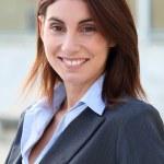 Smiling businesswoman — Stock Photo #5699595