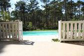 özel yüzme havuzu — Stok fotoğraf