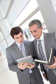 Businessmen meeting — Stock Photo