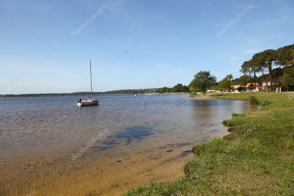 View of a lakeside  Stock Photo #5695587