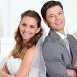 Bride and groom — Stock Photo #5700347