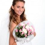 Beautiful bride — Stock Photo #5700358