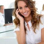 Smiling businesswoman — Stock Photo #5700519