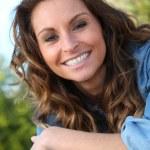 Portrait of beautiful woman — Stock Photo #5700539