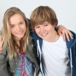 Foto de Stock  : Teenagers