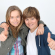 Teenagers — Stockfoto #5700937