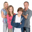 Family portrait — Stockfoto #5700951
