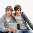Teenage boys  — Stock Photo #5701043