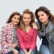 Group of teenagers — Stock Photo #5701048
