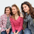 Group of teenagers — Stock Photo #5701049