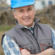 Portrait of smiling engineer — Stock Photo