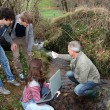 Stock Photo: Teenagers in environmental professional training