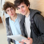 Teenage boys — Stock Photo #5701361