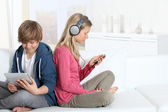 Young teenagers — Stock Photo