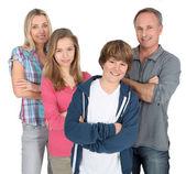 Familjeporträtt — Stockfoto