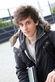 Portret nastoletnich chłopców — Zdjęcie stockowe