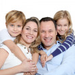 Royalty-Free Stock Photo: Happy family portrait