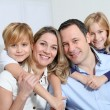 Happy family portrait — Stock Photo #6698097