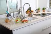 View of modern kitchen — Stock Photo