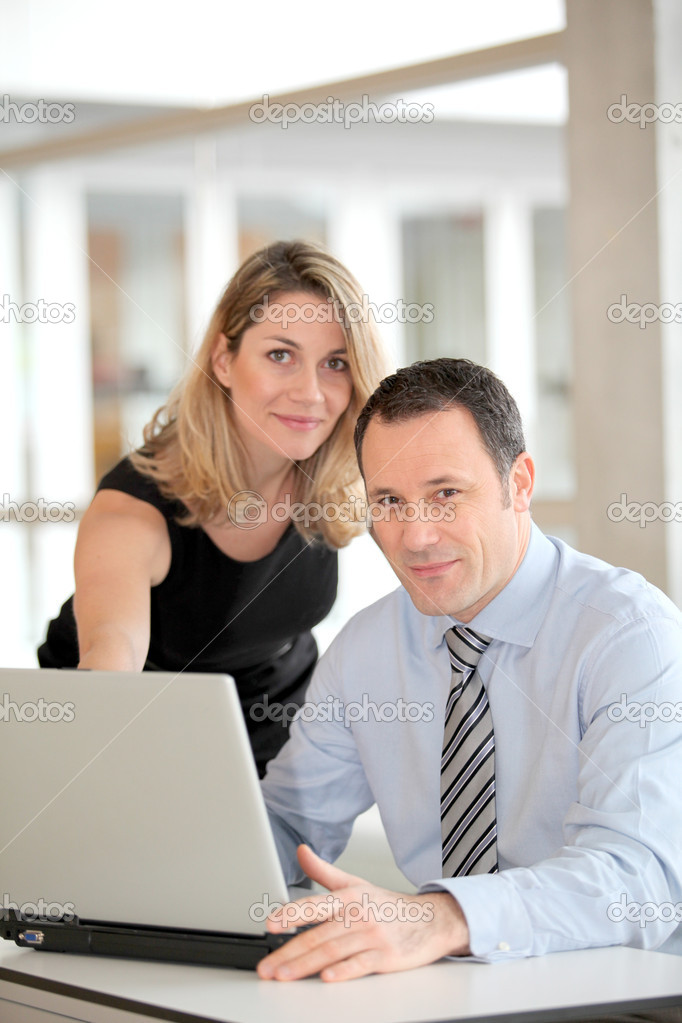 Business working in the office — Stock Photo #6697474